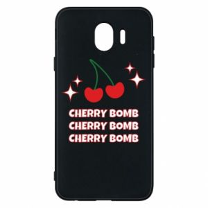 Phone case for Samsung J4 Cherry bomb