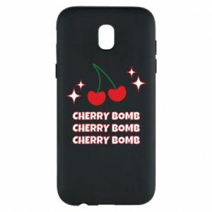 Etui na Samsung J5 2017 Cherry bomb
