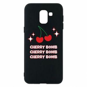 Phone case for Samsung J6 Cherry bomb