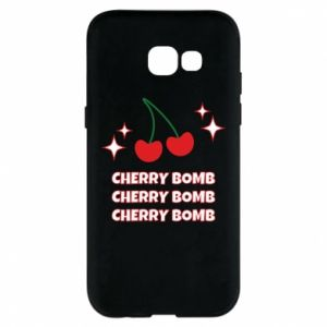 Etui na Samsung A5 2017 Cherry bomb