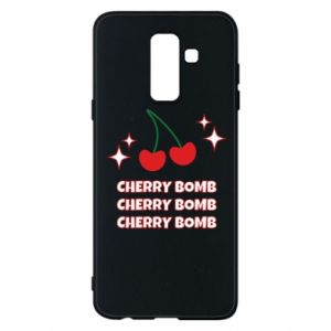 Phone case for Samsung A6+ 2018 Cherry bomb
