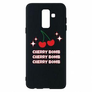 Etui na Samsung A6+ 2018 Cherry bomb