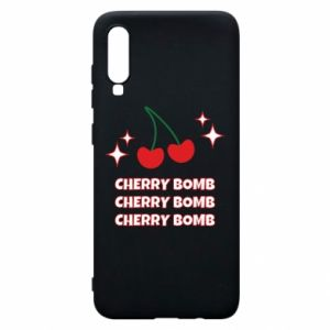 Phone case for Samsung A70 Cherry bomb