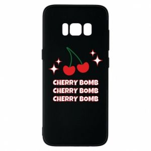 Etui na Samsung S8 Cherry bomb