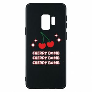 Etui na Samsung S9 Cherry bomb
