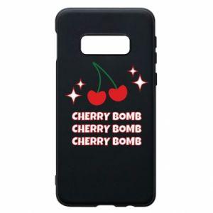 Etui na Samsung S10e Cherry bomb