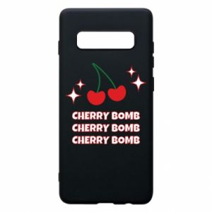 Etui na Samsung S10+ Cherry bomb