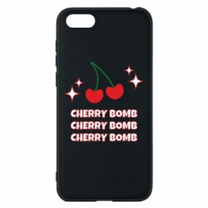 Phone case for Huawei Y5 2018 Cherry bomb