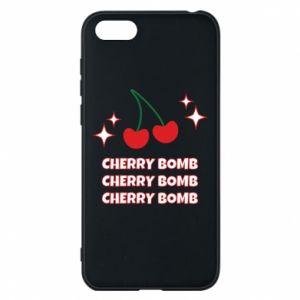 Etui na Huawei Y5 2018 Cherry bomb