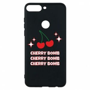 Phone case for Huawei Y7 Prime 2018 Cherry bomb