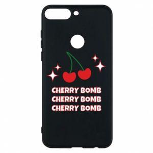 Etui na Huawei Y7 Prime 2018 Cherry bomb