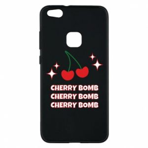 Phone case for Huawei P10 Lite Cherry bomb