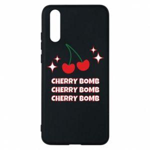 Etui na Huawei P20 Cherry bomb