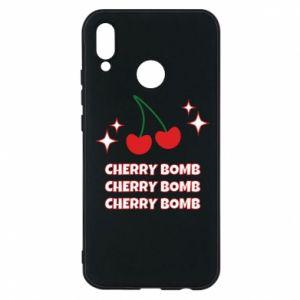Etui na Huawei P20 Lite Cherry bomb