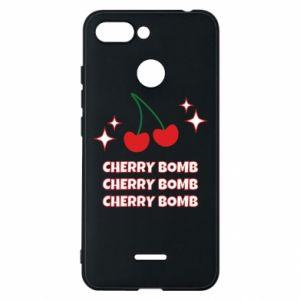 Etui na Xiaomi Redmi 6 Cherry bomb
