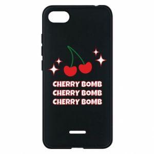 Etui na Xiaomi Redmi 6A Cherry bomb