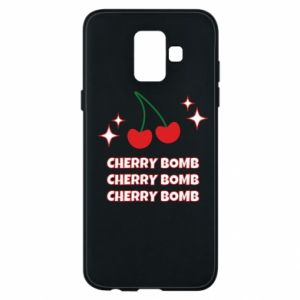 Phone case for Samsung A6 2018 Cherry bomb
