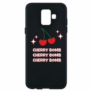 Etui na Samsung A6 2018 Cherry bomb
