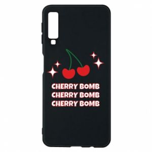 Phone case for Samsung A7 2018 Cherry bomb