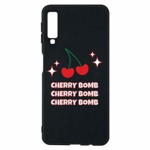 Etui na Samsung A7 2018 Cherry bomb