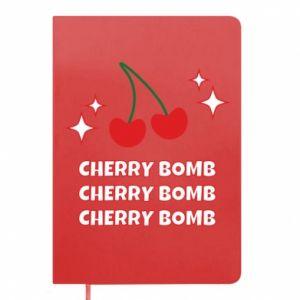 Notepad Cherry bomb