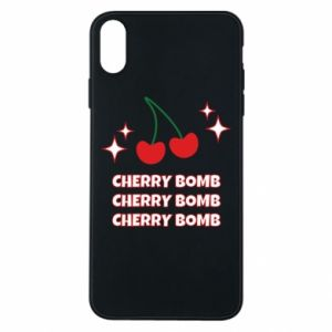 Etui na iPhone Xs Max Cherry bomb