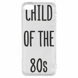 Etui na iPhone 5/5S/SE Child of the 80s