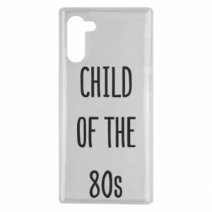 Etui na Samsung Note 10 Child of the 80s