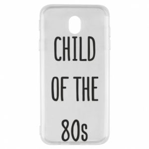 Etui na Samsung J7 2017 Child of the 80s