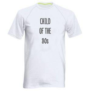 Koszulka sportowa męska Child of the 80s