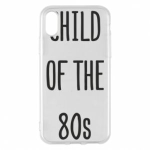 Etui na iPhone X/Xs Child of the 80s