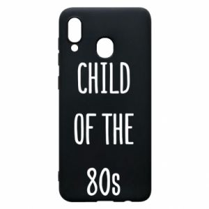 Etui na Samsung A20 Child of the 80s