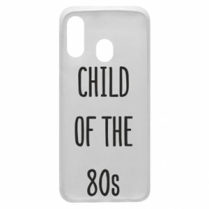 Etui na Samsung A40 Child of the 80s