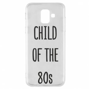 Etui na Samsung A6 2018 Child of the 80s