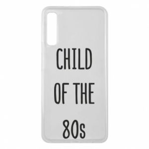 Etui na Samsung A7 2018 Child of the 80s