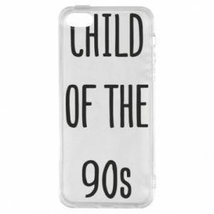 Phone case for iPhone 5/5S/SE Child of the 90s