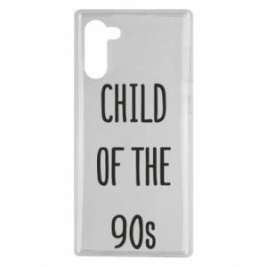 Etui na Samsung Note 10 Child of the 90s