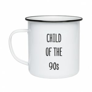 Enameled mug Child of the 90s