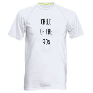 Men's sports t-shirt Child of the 90s