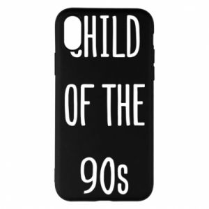 Phone case for iPhone X/Xs Child of the 90s