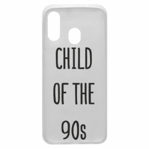 Phone case for Samsung A40 Child of the 90s
