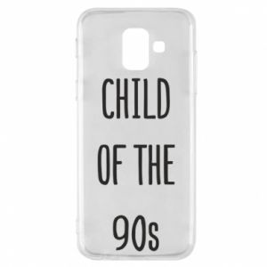 Phone case for Samsung A6 2018 Child of the 90s