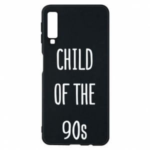 Phone case for Samsung A7 2018 Child of the 90s