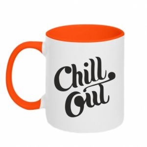 Kubek dwukolorowy Chill out
