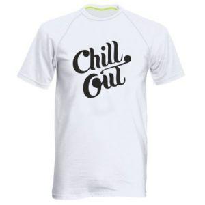 Męska koszulka sportowa Chill out