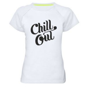Damska koszulka sportowa Chill out