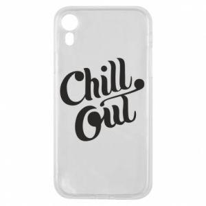 Etui na iPhone XR Chill out