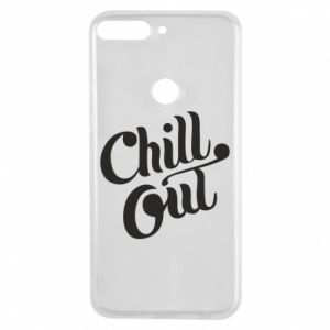 Phone case for Huawei Y7 Prime 2018 Chill out