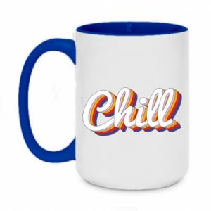 Two-toned mug 450ml Chill