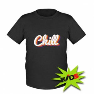 Kids T-shirt Chill